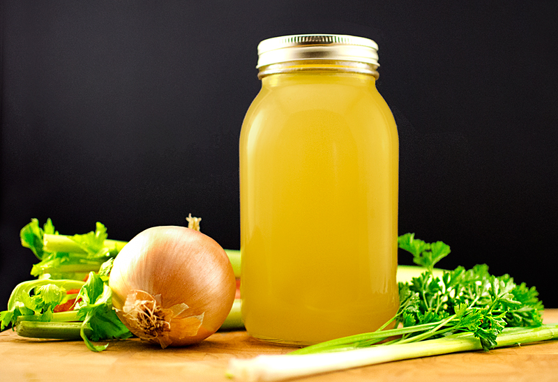 how to make easy vegetable broth