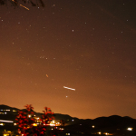 30 second exposure, see the planes?