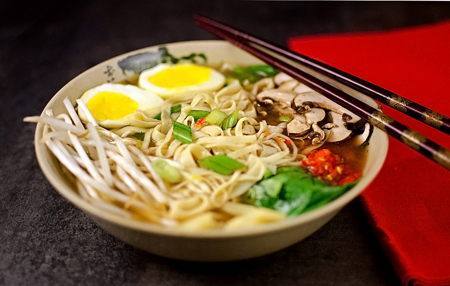 Miso Ramen Noodle Soup Recipe from Scratch