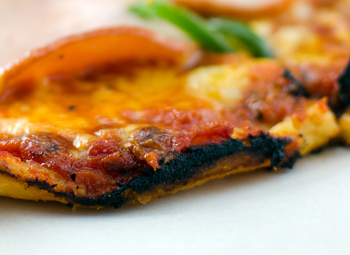 New England Bar Pizza Crust