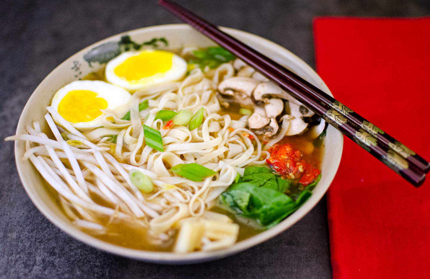 The Best Miso Ramen Noodle Soup Recipe from Scratch - AstroEater